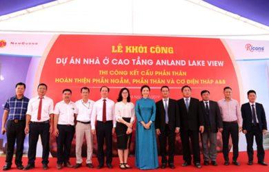 Khởi công xây dựng tòa nhà chung cư Anland Lakeview Dương Nội