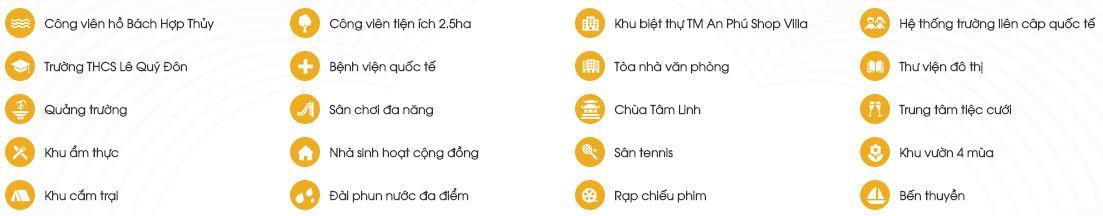 Tiện ích khu đô thị Dương Nội - Anland Residences CT06 anlandlakeview