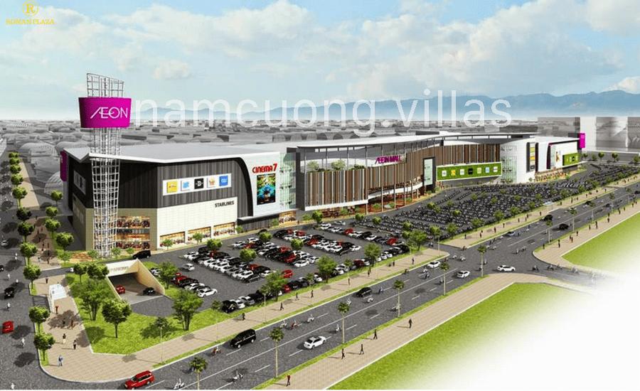 Clip tiến độ vị trí AEON Mall Hà Đông tại Dương Nội